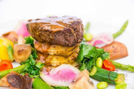 Filet of Beef Stack Jupiter Catering